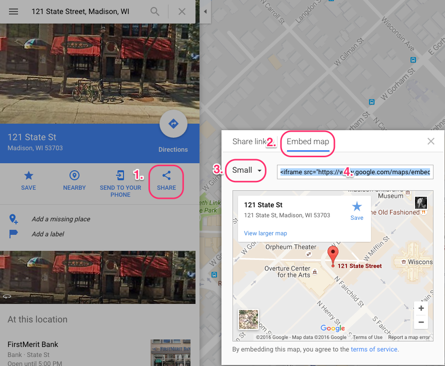 Add a Google Map to your Page – clickbooq